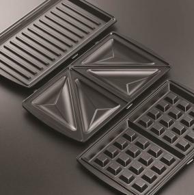 russell hobbs 20930 56 plaques gaufres croque monsieur grill 3 en 1 cuisine maison. Black Bedroom Furniture Sets. Home Design Ideas