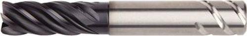 5FL WIDIA Hanita 5VNE13015SV VariMill II ER 5VNE HP Finishing End Mill AlTiN Coating RH Cut Safe-Lock Carbide 0.625 LOC 0.5 Cutting Dia