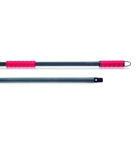 Maya Professional Tools 06053 - Bastone per scopa Ergo Pro, 1,40 m, maniglia ergonomica, sistema antilesione, superficie rugosa antiscivolo, filettato universale 40m