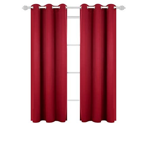 Deconovo Grommet Curtains Thermal Insulated Curtain Blackout