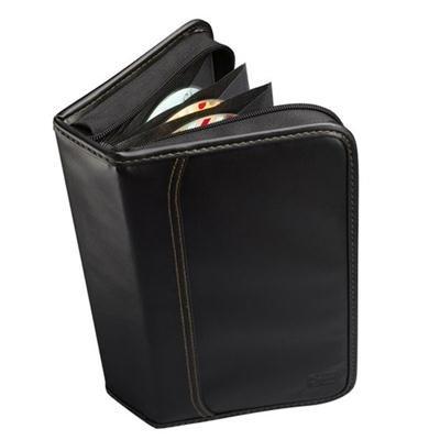 Cases Book Fold Cd Case (KSW64 - Case Logic CD Case - Book Fold - Koskin - Black - 64 CD/DVD)