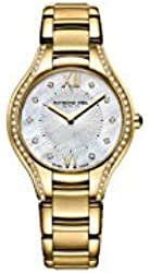 Raymond Weil Women's 'Noemia' Swiss Quartz Stainless Steel Dress Watch, Color:Gold-Toned (Model: 5132-PS-00985)