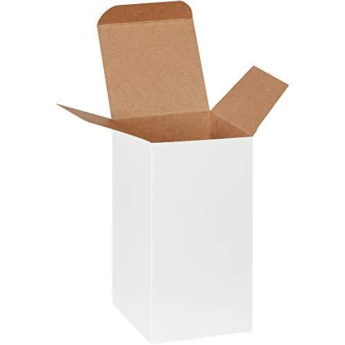 4 White Reverse Tuck Folding - Reverse Tuck Folding Cartons, 4