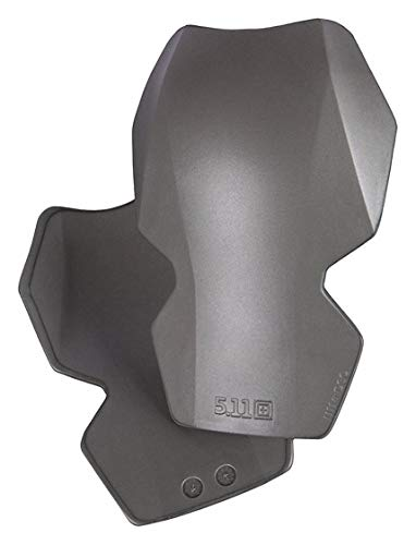 (5.11 Tactical Hard Shell No Straps-Strap Knee Pads, Gray, Universal Gray 56306-1 Each)