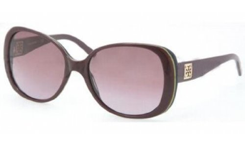 Tory Burch Sunglasses Ty7036 10428H Plum Green Navy Plum - Shop Tory Online Burch