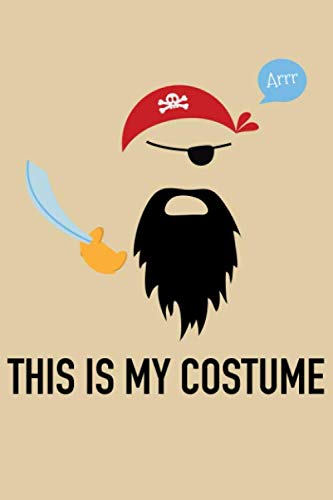 Arr This Is My Costume: Blank Paper Sketch