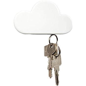 Amazon.com: qtmy White Cloud Pared magnético llavero: Home ...
