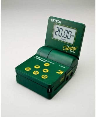 Extech 412400-NIST Multifunction Process Calibrator Green NIST Certified