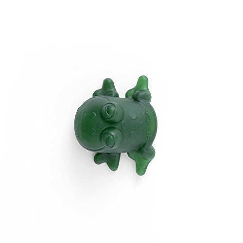 HEVEA Fred Green Rubber Frog Made from Natural Rubber, BPA-Free, PVC-Free and Plastic-Free