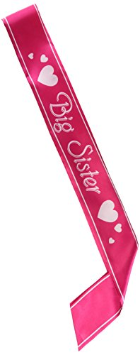Beistle 60196 Big Sister Satin Sash, 27-Inch by 3-1/2-Inch -