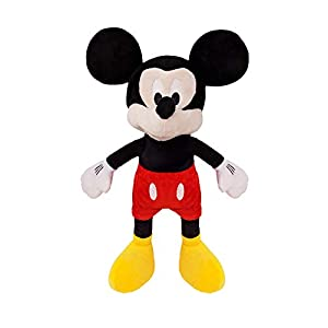 Best Mickey Mouse Plush Toy Medium Size 16` with Travel Bag (Mickey Medium)
