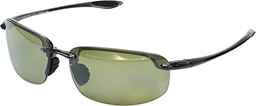 Maui Jim Unisex Hookipa Reader Universal Fit 2.00 Smoke Grey/Maui Ht One Size