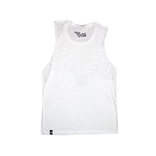 Zoo Project: Camiseta sin mangas Cebra Blanco
