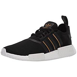 adidas Originals Women's NMD_r1 Sneaker, Black/Gum, 7