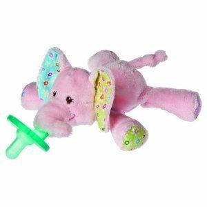 Mary Meyer Wubbanub Infant Pacifier Ella Elephant (Mary Meyer Wubbanubs)