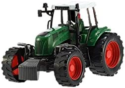 Umkytoys Farm Tractor Toy For Toddlers In Box Farmyard Toys For Toddlers Kids Tractor Toys Best Gift For Children Amazon Co Uk Toys Games
