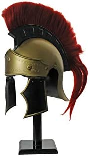 Szco Supplies Red Crest Roman Centurion Helmet