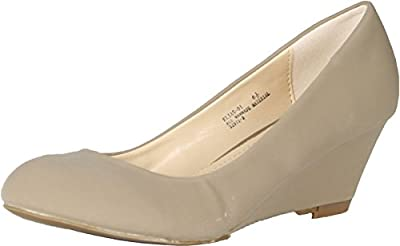 Bamboo Womens Elias-01 Casual Wedge