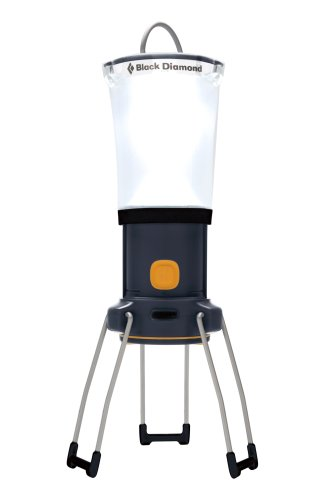 Black Diamond Apollo Lantern, Dark Gray, Outdoor Stuffs