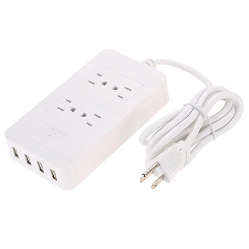 Iextreme 4 USB Port Power Supply Board Socket Charger - White by Iextreme (Image #7)