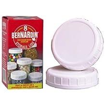 Bernardin Mason Jar Caps - Plastic - Standard