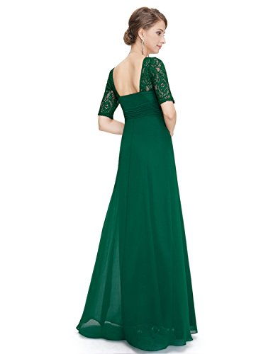 Ever-Pretty HE08038WH08 - Vestido para mujer Verde