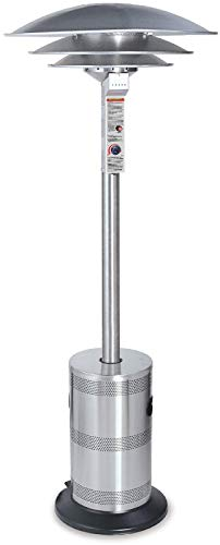 - Endless Summer ES5000COMM Outdoor Patio Heater, Stainless Steel