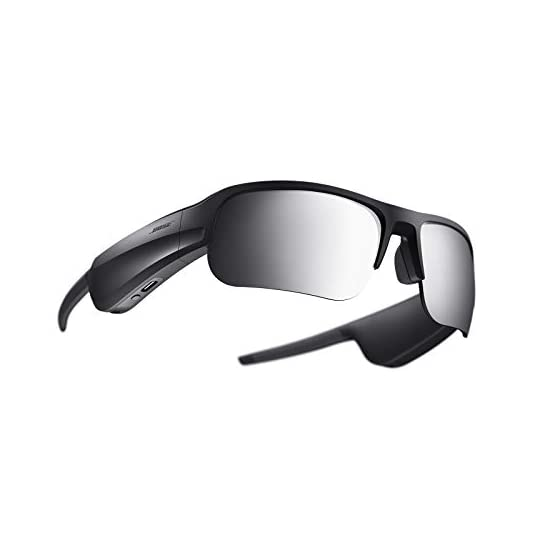 Bose Frames Tempo – Sports Audio Sunglasses with Polarized Lenses & Bluetooth Connectivity – Black