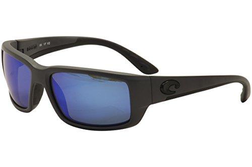 Costa Del Mar Fantail 580G Fantail, Matte Gray Blue Mirror, Blue - Fantail Costa Matte Gray
