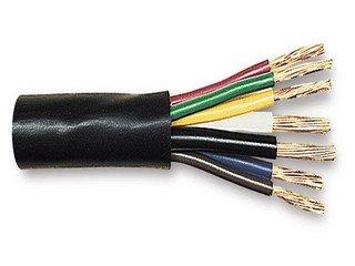 Amazon.com: Rv Trailer Cable 7 Conductor 14/4-12/1-10/2 Ga Pvc ...