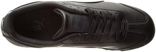 PUMA Men's Roma Basic Fashion Sneaker, Black/Black - 6 D(M) US