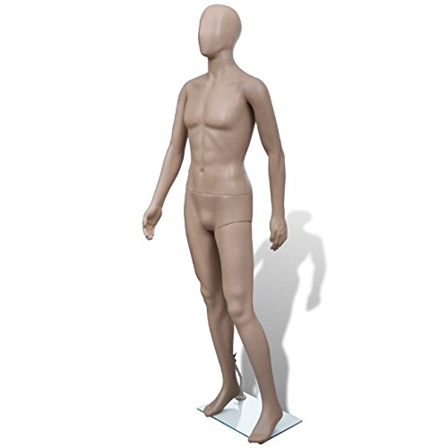 SKB Family Mannequin Man Round Head Clothing Stand Display by SKB Family