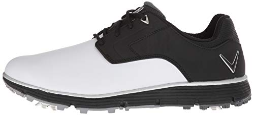 Pictures of Callaway Men's LaJolla Golf Shoe Black/ Black/White 5