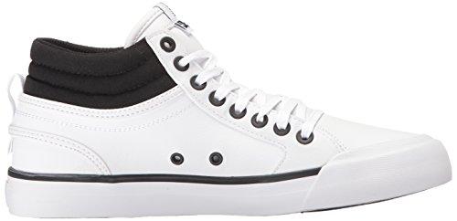 DC Frauen Evan Hallo Skate-Schuhe, EUR: 42, Black/White