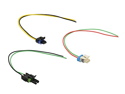 Michigan Motorsports T56 Connector Set of 3 Backup, Reverse Lockout, VSS Wiring Pigtail GM LT1 LS1 Camaro, Firebird, etc