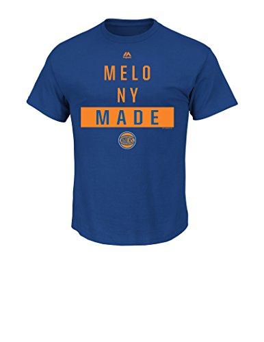 NBA New York Knicks Carmelo Anthony Men's 7 Still The One Tee, Small, Royal Carmelo Anthony Syracuse Jersey