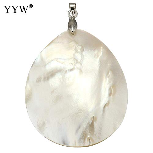 Davitu Vintage Natural White Mother of Pearl Shell for sale  Delivered anywhere in Canada