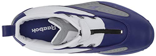 Answer Team Hombres Grey Reebokbs9847 Reebok Iv Pe Purple flat white pUwBx5qxP