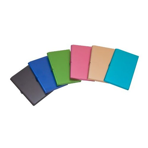 Business Name Case Card Holder Aluminum Assorted Colors by Kikkerland (Image #3)