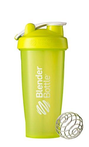 BlenderBottle Classic Loop Top Shaker Bottle, 28-Ounce, Green/Green