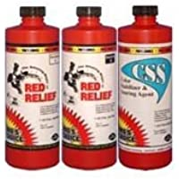 Pros Choice - CTI - Red Relief for Wool - 3 pint set - 1072