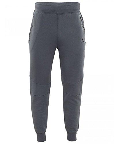Men's Nike Air Jordan Lite Fleece Sweatpants, Cool Grey, 724788-065, Size 3XL by NIKE