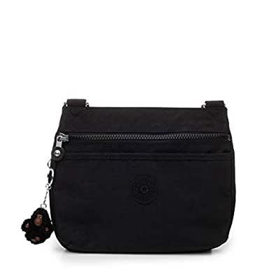Kipling Emmylou Crossbody Bag Black Tonal Handbags
