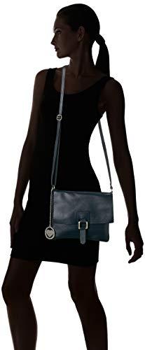 Mujer Hombro De Y Bolsos Shoppers Azul Blue Cbc3324tar dark Borse Chicca 7w0fRW