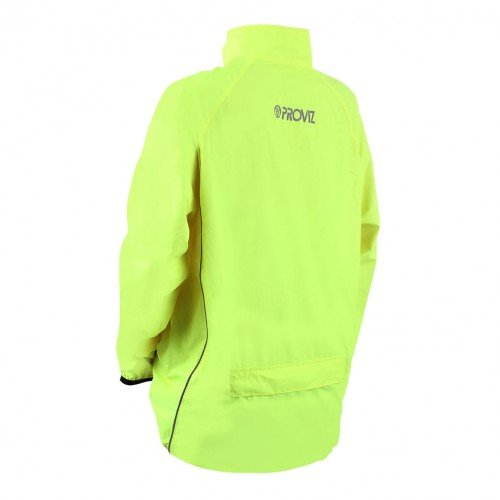 Cycling Proviz Women's Windproof Jacket Running Yellow 6wxwag