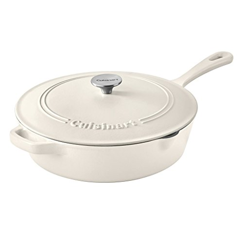 "Cuisinart Chicken Fryer, Matte Snow White, 12"" Only $69.99 **Today Only**"