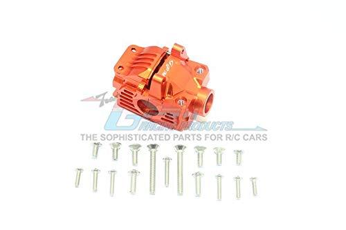 Traxxas Rustler 4X4 VXL (67076-4) Upgrade Parts Aluminum Front Gear Box -1 Set Orange (Front Set Gearbox)