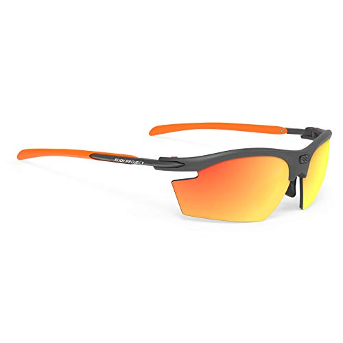 Rudy Project 2019 Rydon Sports Cycling Sunglasses - Graphite/Orange Frame - Polar 3FX HDR Multilaser Orange Lens