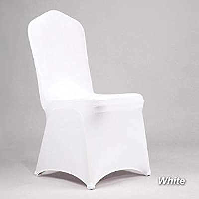 Incredible Pcsacdf 100Pcs Cheap Office Polyester Wedding Chair Cover Andrewgaddart Wooden Chair Designs For Living Room Andrewgaddartcom