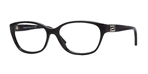 Versace VE3189B Eyeglass Frames GB1-54 - Black - Versace 2014 Sunglasses